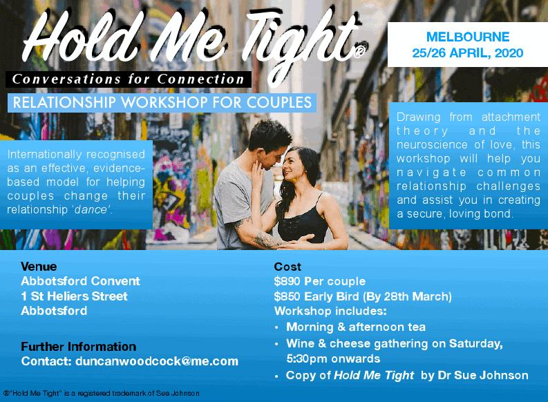 Hold Me Tight 1 - Melbourne EFT